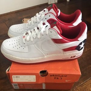 quality design 29f0e 90660 Nike Shoes - Nike Air Force 1 Puerto Rico 7 sz 10